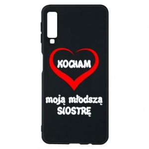 Samsung A7 2018 Case I love my younger sister