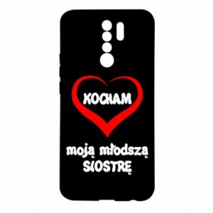 Xiaomi Redmi 9 Case I love my younger sister