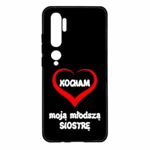 Xiaomi Mi Note 10 Case I love my younger sister