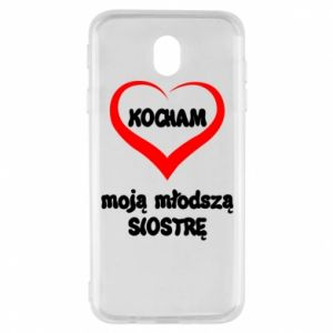 Samsung J7 2017 Case I love my younger sister