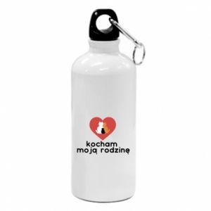 Water bottle I love my family