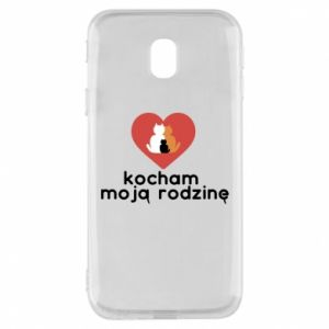 Phone case for Samsung J3 2017 I love my family