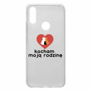 Phone case for Xiaomi Redmi 7 I love my family