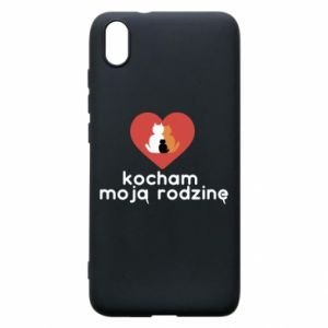 Phone case for Xiaomi Redmi 7A I love my family