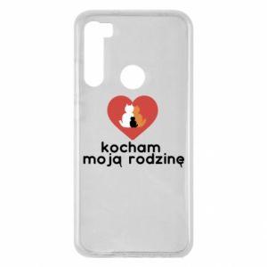 Xiaomi Redmi Note 8 Case I love my family