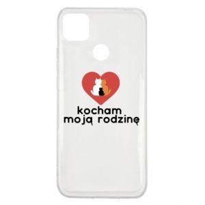 Xiaomi Redmi 9c Case I love my family