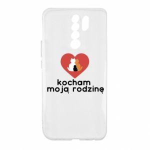 Xiaomi Redmi 9 Case I love my family