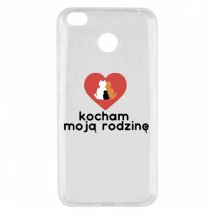 Xiaomi Redmi 4X Case I love my family