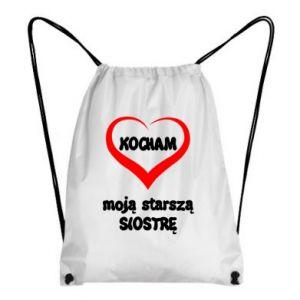 Backpack-bag I love my older sister