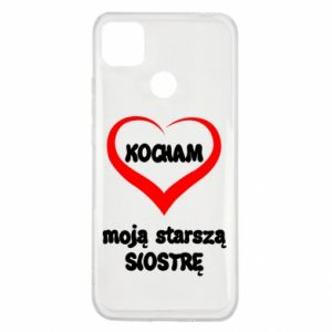 Xiaomi Redmi 9c Case I love my older sister