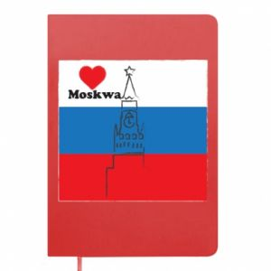 Notepad I Love Moscow