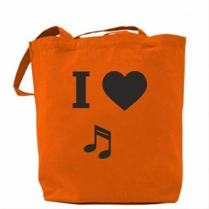 Bag I love music