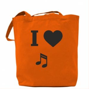 Torba I love music