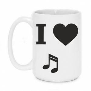Kubek 450ml I love music