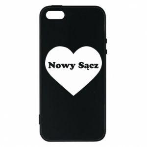 Etui na iPhone 5/5S/SE Kocham Nowy Sącz - PrintSalon
