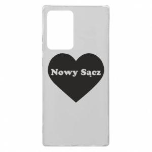 Samsung Note 20 Ultra Case I love Nowy Sacz