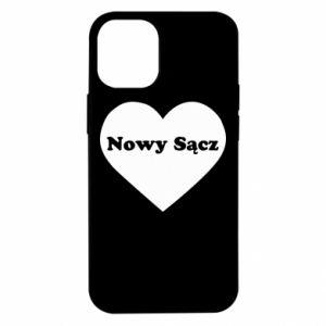 iPhone 12 Mini Case I love Nowy Sacz