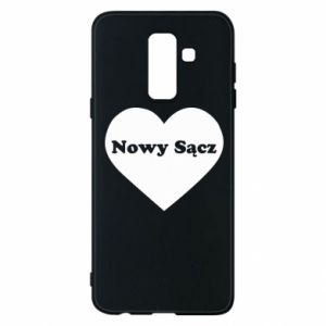 Phone case for Samsung A6+ 2018 I love Nowy Sacz