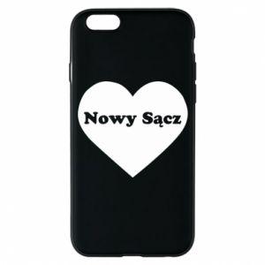 Etui na iPhone 6/6S Kocham Nowy Sącz - PrintSalon