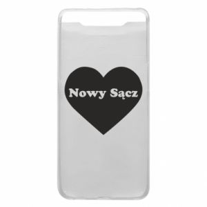 Phone case for Samsung A80 I love Nowy Sacz