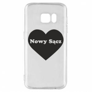 Etui na Samsung S7 Kocham Nowy Sącz - PrintSalon