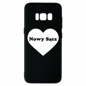 Phone case for Samsung S8 I love Nowy Sacz