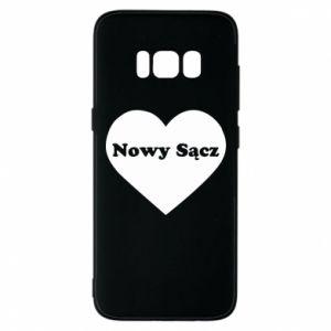 Etui na Samsung S8 Kocham Nowy Sącz - PrintSalon