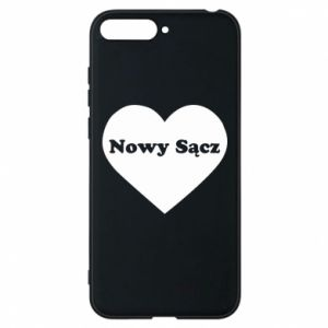 Phone case for Huawei Y6 2018 I love Nowy Sacz