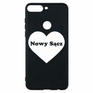 Phone case for Huawei Y7 Prime 2018 I love Nowy Sacz