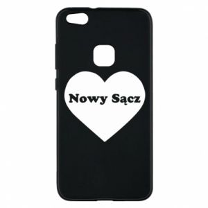 Phone case for Huawei P10 Lite I love Nowy Sacz