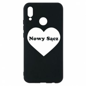 Phone case for Huawei P20 Lite I love Nowy Sacz