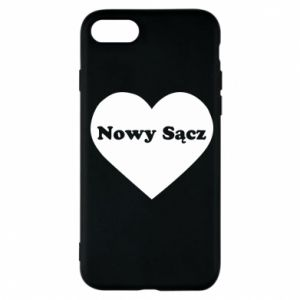 Phone case for iPhone 7 I love Nowy Sacz