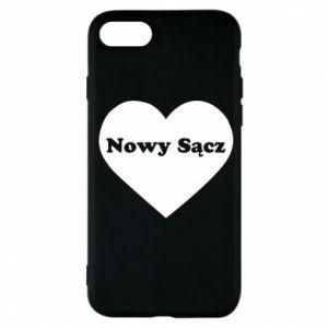 Etui na iPhone 7 Kocham Nowy Sącz - PrintSalon