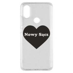 Phone case for Xiaomi Mi A2 I love Nowy Sacz