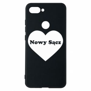 Phone case for Xiaomi Mi8 Lite I love Nowy Sacz