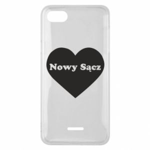 Phone case for Xiaomi Redmi 6A I love Nowy Sacz