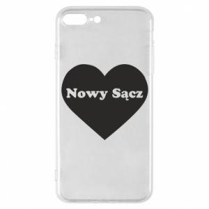 Etui na iPhone 7 Plus Kocham Nowy Sącz - PrintSalon