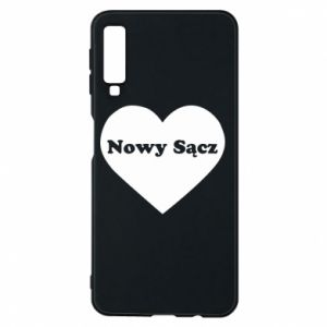 Phone case for Samsung A7 2018 I love Nowy Sacz