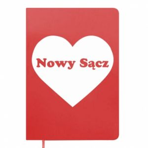 Notepad I love Nowy Sacz