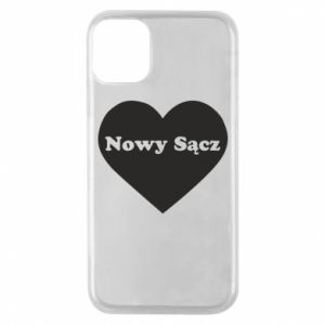 Phone case for iPhone 11 Pro I love Nowy Sacz