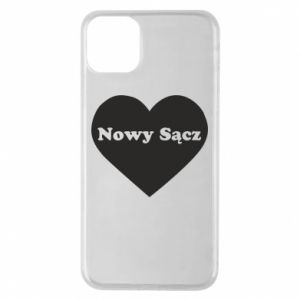 Phone case for iPhone 11 Pro Max I love Nowy Sacz