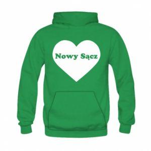 Kid's hoodie I love Nowy Sacz