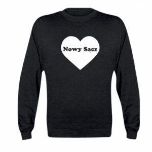 Kid's sweatshirt I love Nowy Sacz