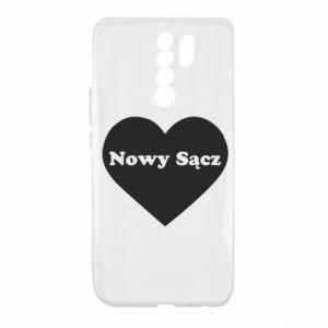 Xiaomi Redmi 9 Case I love Nowy Sacz