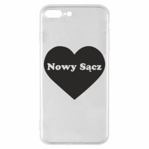 Phone case for iPhone 8 Plus I love Nowy Sacz