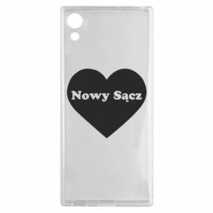 Sony Xperia XA1 Case I love Nowy Sacz