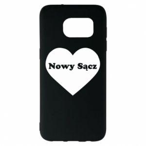 Samsung S7 EDGE Case I love Nowy Sacz