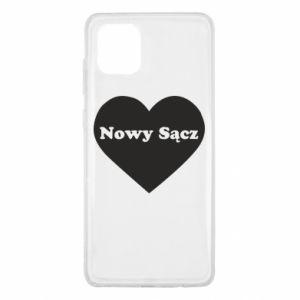Samsung Note 10 Lite Case I love Nowy Sacz