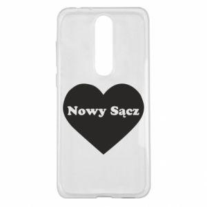 Nokia 5.1 Plus Case I love Nowy Sacz