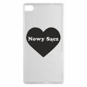 Huawei P8 Case I love Nowy Sacz